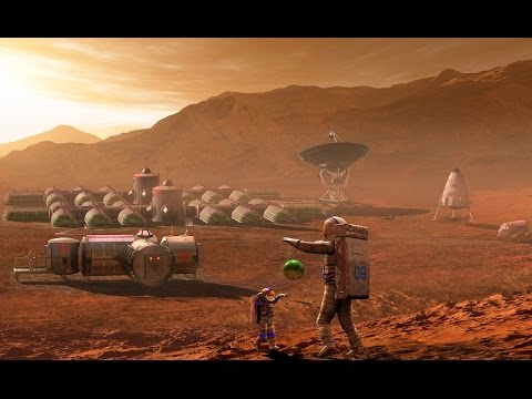 Space Colony of the Future  :   Documentary on The Technology of Living on Mars