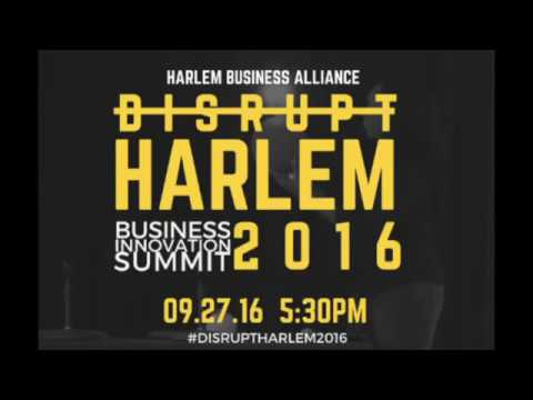 """Disrupt Harlem 2016: PitchTank Competition"""