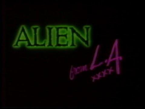 Random Movie Pick - Alien From L.A. (1988) - Trailer (CANNON FILMS) YouTube Trailer