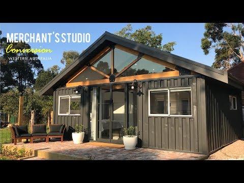 Merchant's Studio: Container Conversion in Margaret River