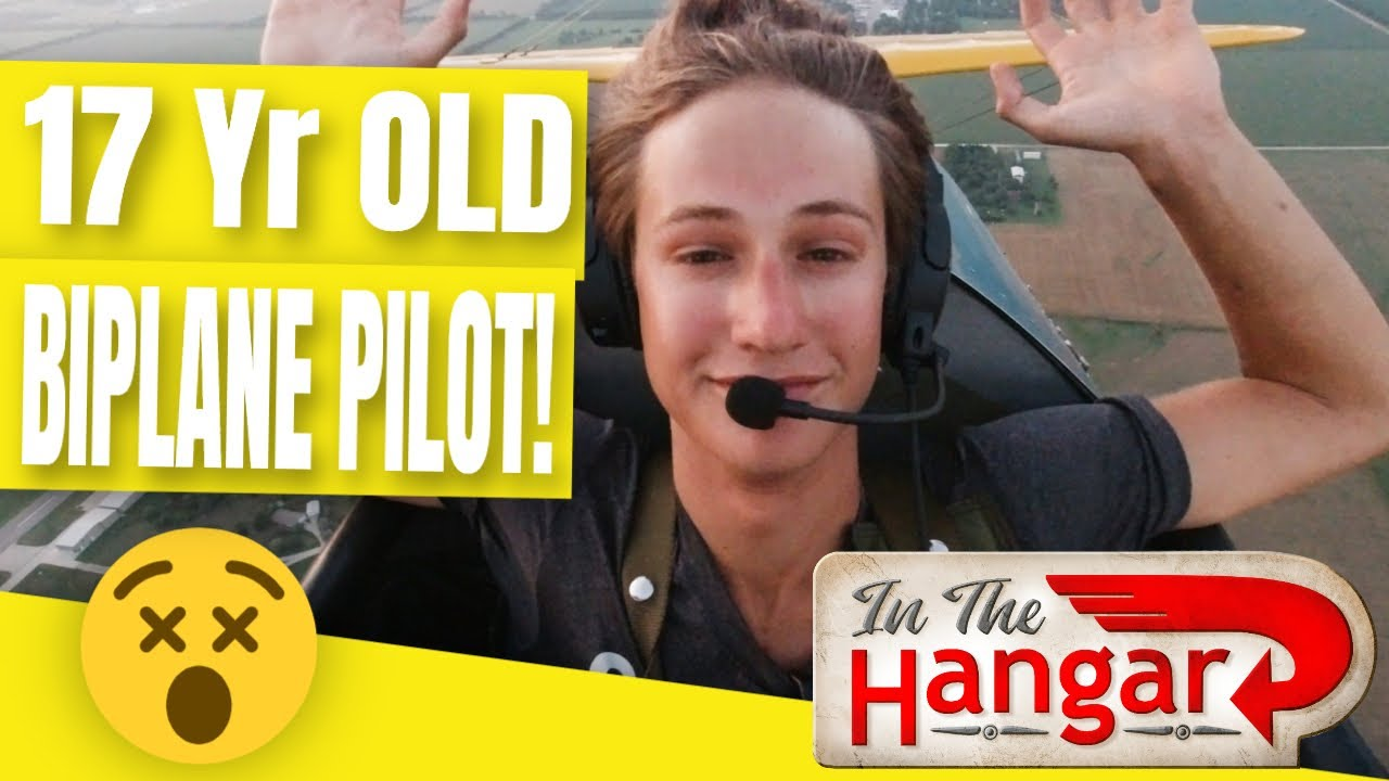 Youngest Baller Pilot and his Biplane - InTheHangar Ep 106