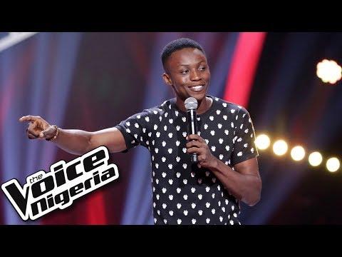 "Godwin Bada sings ""Lazy Song / Blind Auditions / The Voice Nigeria Season 2"