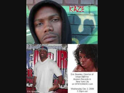 "Hip Hop News: A&R Eric Beasley of Asylum Records/Kaze and Holly ""Hi Def"" Daniels on SPATE Radio"