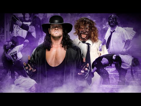 Undertaker and Mick Foley relive their infamous Hell in a Ce