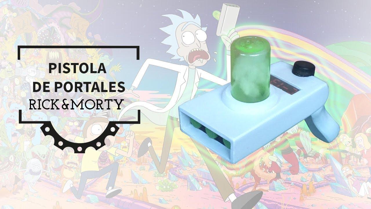 Cómo Hacer La Pistola Portales De Rick Y Morty How To Make Rick And Morty S Portal Gun Youtube