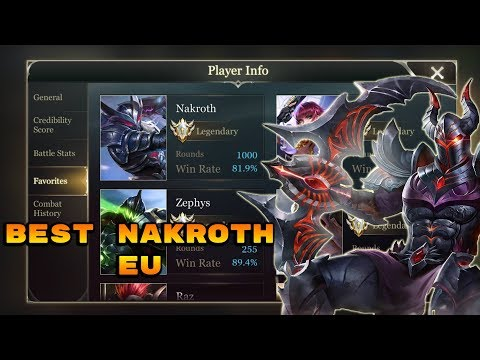 HOW TO WIN A GAME WITH NAKROTH IN LESS THAN 8 MINUTES! - Arena of Valor Nakroth Gameplay #4