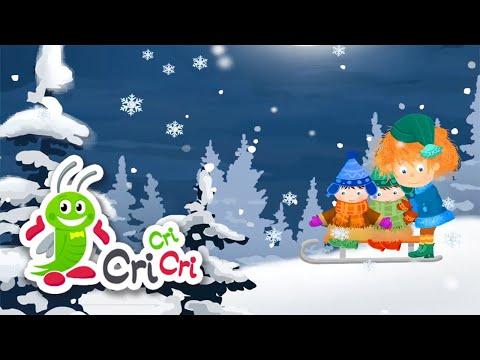 Saniuta | Cantece de iarna pentru copii | CriCriCri #cantecepentrucopii #cantecedeiarna – Cantece pentru copii in limba romana