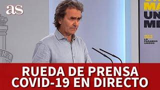 CORONAVIRUS | EN DIRECTO rueda de prensa de FERNANDO SIMON I Diario AS