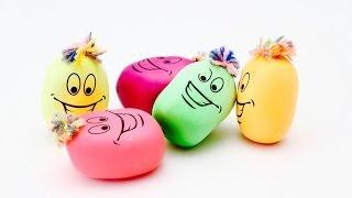 как сделать игрушку картошку из шарика и муки