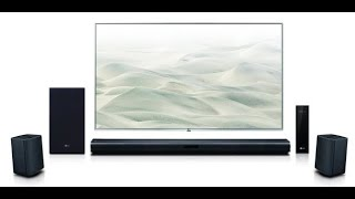 Unboxing LG 4.1 Channel 420W Sound bar surround system (Wireless)