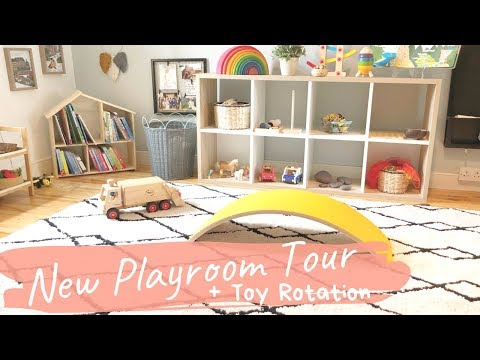 Toddler Playroom Tour & Toy Rotation