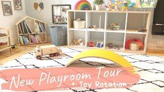 Toddler Playroom Tour & Toy Rotation