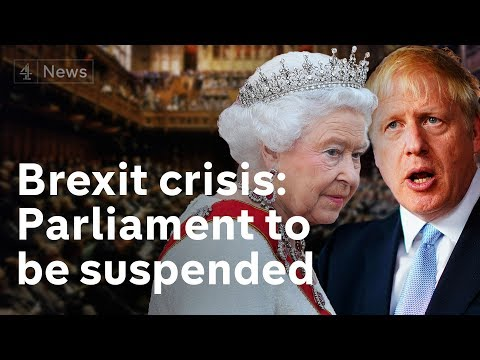 What the suspension of parliament means for Brexit