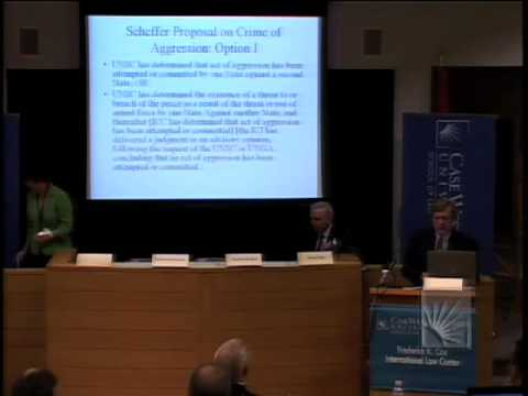WCRS 6: Jurisdictional Issues and Trigger Mechanism - Panel 3