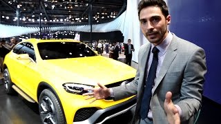 видео Mercedes-Benz Concept GLC Coupe 2015