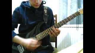 "Dying Fetus - ""Justifiable Homicide"" guitar cover"