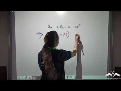 Sum of n terms of a Geometric Progression, Formula Derivation