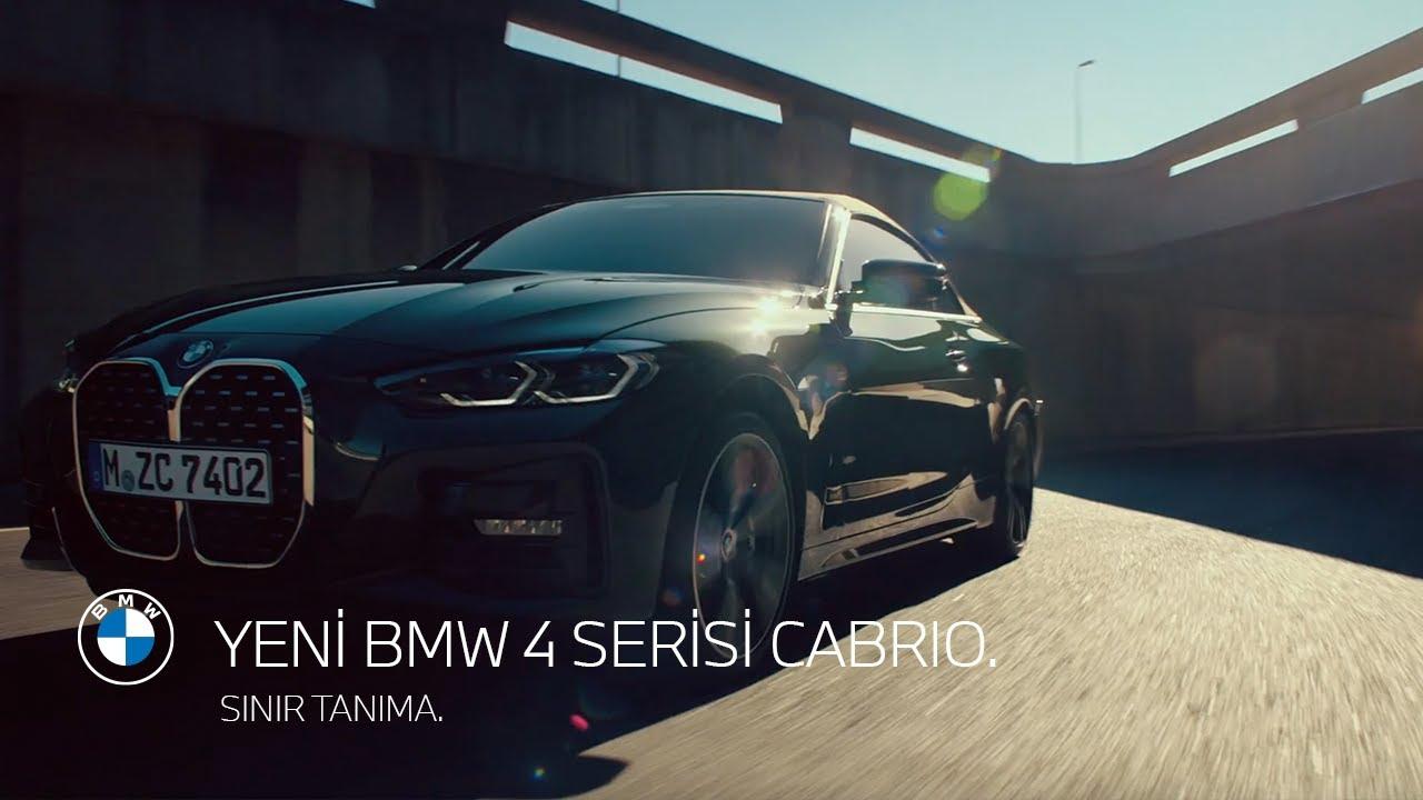 SINIR TANIMA. YENİ BMW 4 SERİSİ CABRIO.