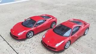 Toy Ferrari Demonstration