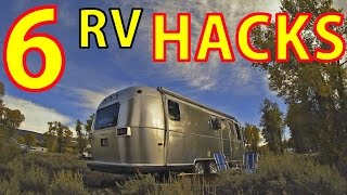 FOR NEWBIES:💡Six Great RV Hacks👏