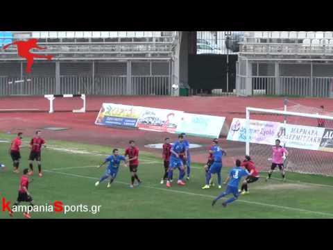 Καβάλα-Καμπανιακός 2-1(by kampaniasports.gr)