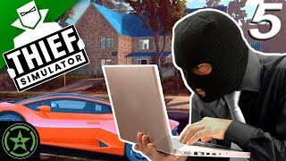 HACKING AND SMASHING - Thief Simulator (Part 5) | Let's Watch