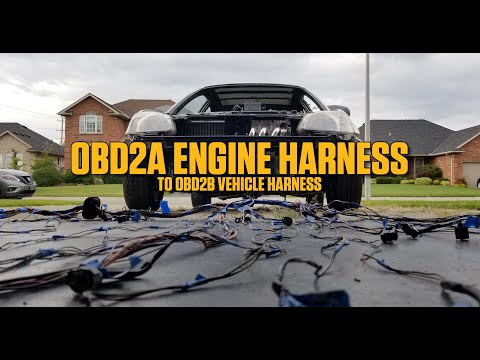 Modifying the EK Harness to the H22 Harness