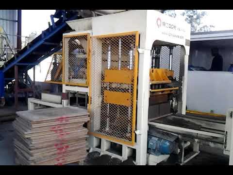 QGM QT6 Hollow Block Making Machine in Durban, South Africa