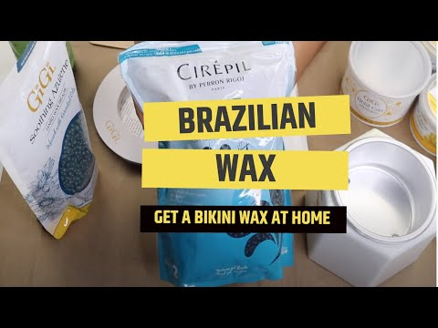 HOW TO: At Home Brazilian Wax Tutorial | DIY Brazilian Waxing