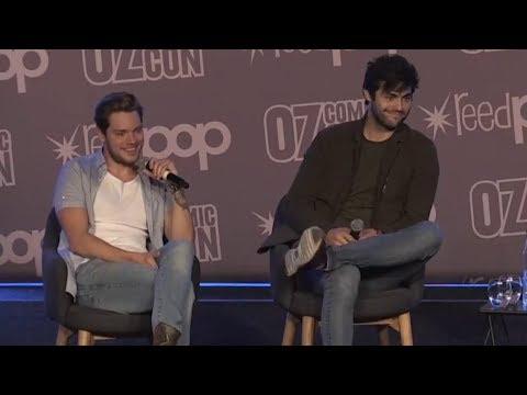 Matthew Daddario and Dominic Sherwood  Oz ComicCon  SYDNEY 2018
