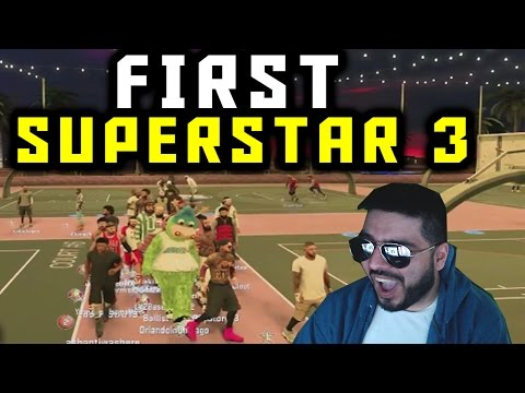NBA 2K17 First SuperStar 3 Reaction