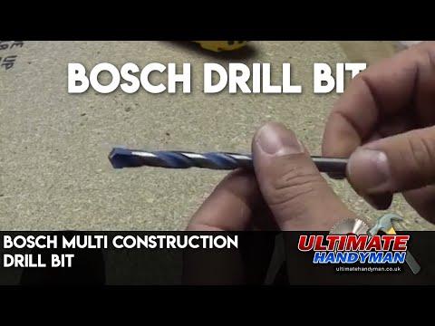Bosch multi construction drill bit