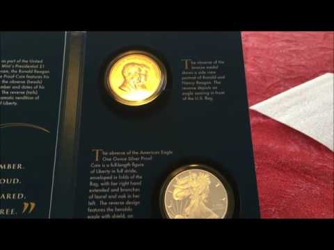 LIVE UNBOXING OF REAGAN COINS AND CHRONICLES THE LAST PRESIDENTIAL DOLLAR COIN!