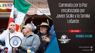 Caminata por la paz encabezada por Javier Sicilia y la familia LeBarón (4)