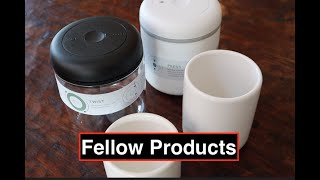 Fellow Atmos Vacuum Canister | Monty Latte Art Mugs