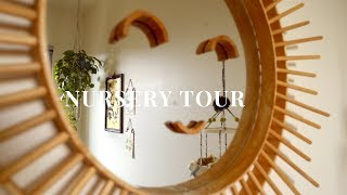 Nursery Tour 2018 - Thrifted Gender Neutral Decor | HellaJam #nurserytour