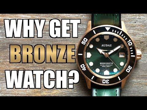 My FIRST EVER Bronze Watch! Audaz Bronzmatic Automatic Review (ADZ-2065) - Perth WAtch #321