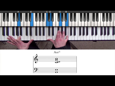 Herbie Hancock Chord Voicing - Minor 11th Chord Piano