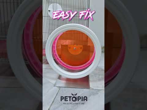 [DEMO] Sugar Glider Running Wheel Easy Fix from Taiwan   PETOPIA Pet Products