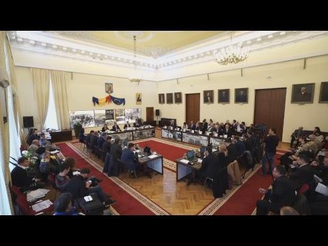 30 01 2018 Ședința Consiliului Local Iași