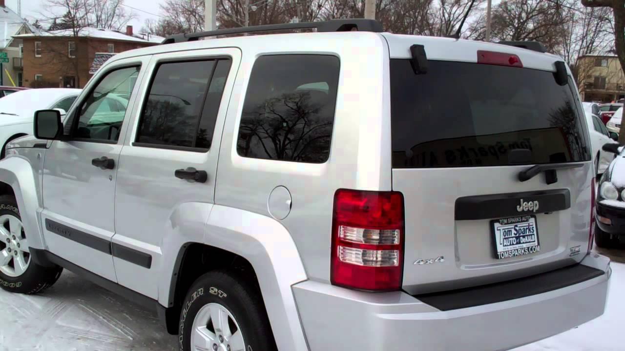 2010 jeep liberty sport 4x4 with sunroof dekalb il near sycamore