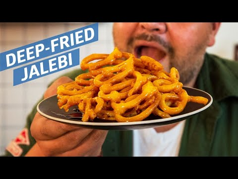 Cliff Attempts to Make Fried Jalebi — You Can Do This!