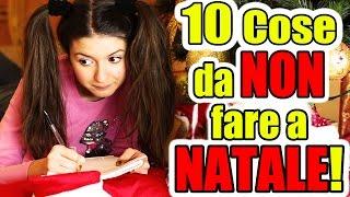 10 cose da NON FARE a NATALE