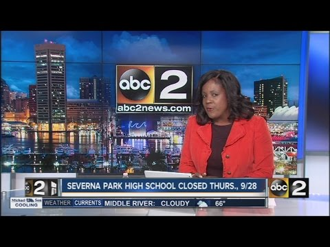 Severna Park High School to be closed Thursday