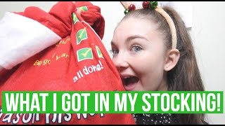 WHAT I GOT IN MY STOCKING 2016|Sophia Sleighs|Floral Sophia