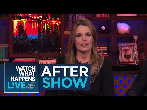 After Show: Savannah Guthrie's Embarrassing Moment With Khloe Kardashian | WWHL