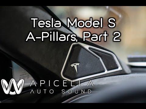 Apicella Auto Sound - Tesla Model S: A-Pillars, Part 2