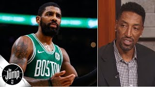 Kyrie-LeBron reunion possible since he hasn't been a leader in Boston - Scottie Pippen | The Jump