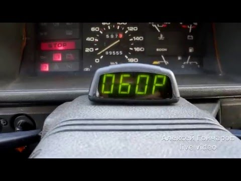 Board computer BC-06 by car and where to put the sensor - part 3