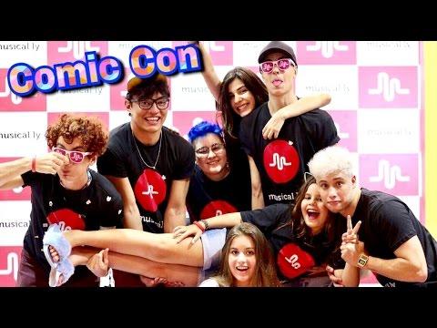 Musical.ly na Comic Con Recife 😍